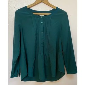 Loft Petite Button Up Blouse